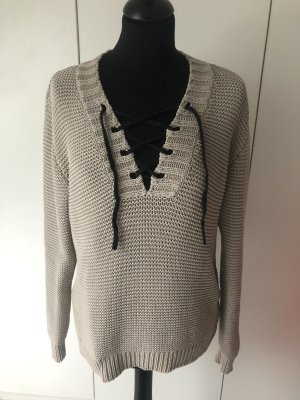 10 Days Coarse Knitted Sweater beige