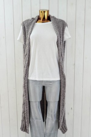 10 Days Knitted Coat beige wool