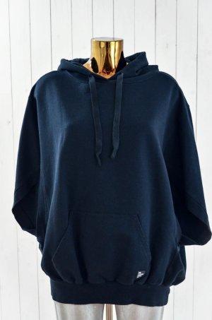 10 Days Hooded Sweatshirt black-dark blue cotton