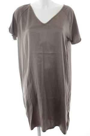 10 Days Shortsleeve Dress grey brown simple style