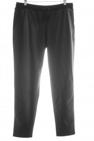 10 Days Leather Trousers black casual look