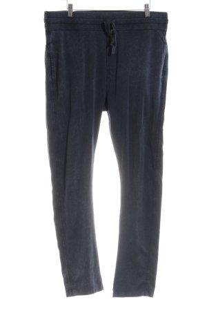 10 Days Pantalone jersey blu stile atletico
