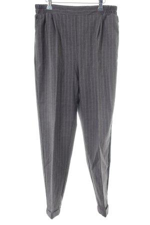 10 Days Jersey Pants grey-white pinstripe elegant