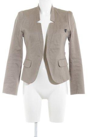 10 FEET Kurz-Blazer beige extravaganter Stil
