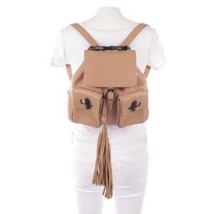 100% authentic Gucci Rucksack Backpack bamboo 2300€ chiara ferragni