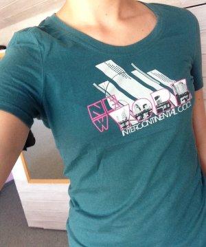 100% Baumwoll- T-Shirt mit Print