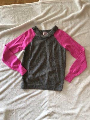 Juicy Couture Cashmere Jumper magenta-grey