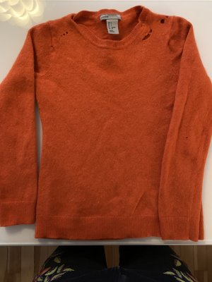 100% cashmere Pullover Kids waste Look