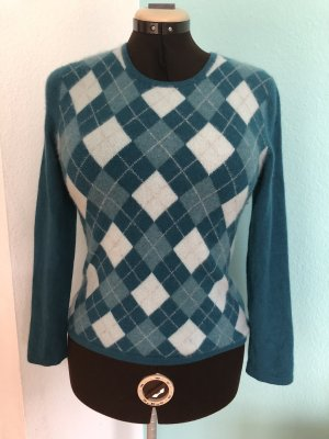 100% Cashmere Pullover mit Muster