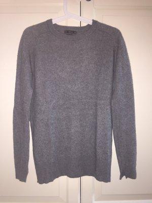 100% Cashmere Pullover ZARA (dunkelgrau)