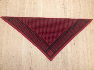 100% Cashmere scarf *red*