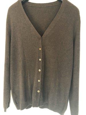 Essentials Ensemble en tricot brun foncé-brun noir