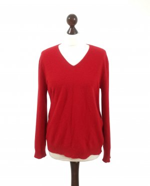 Adagio Cashmere Jumper brick red-dark red cashmere
