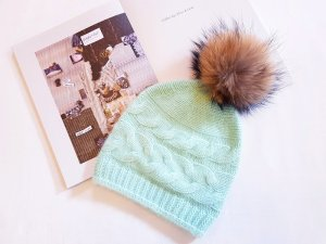 Beanie multicolored cashmere