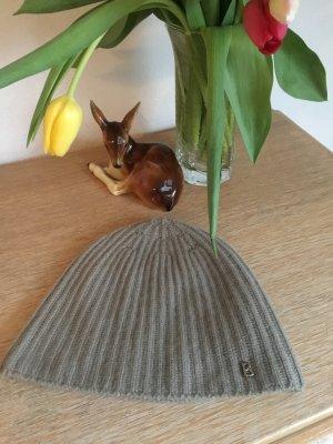 Bogner Chapeau en tricot beige-chameau cachemire