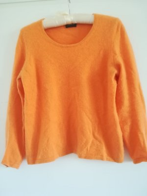 ESISTO Cashmere Jumper orange