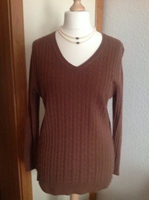 100% Kaschmir Pullover Größe L
