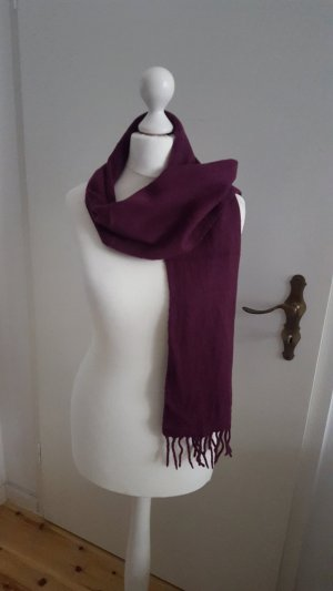 Strauss Innovation Cashmere Scarf bordeaux-blackberry-red cashmere