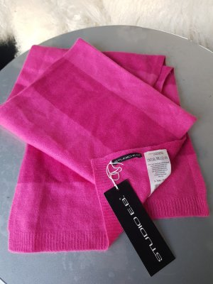100% Kaschmir Schal NEU mit Etikett pink Studio E.B. 2farbig