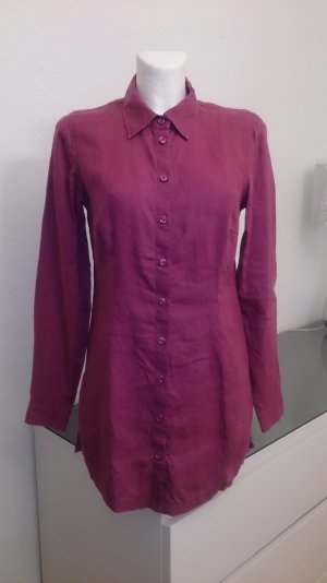 More & More Linen Blouse blackberry-red