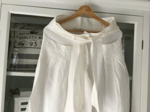 Harem Pants white linen