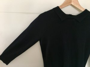 Clements Ribeiro Pull en cashemire noir-beige clair laine mérinos