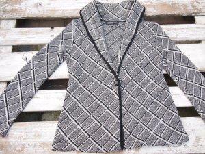 Knitted Cardigan light grey merino wool