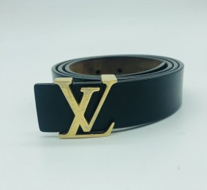 Louis Vuitton Cintura di pelle nero