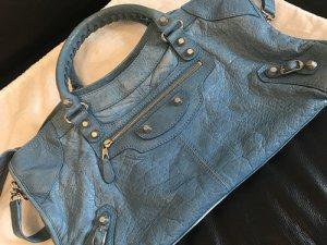 100% Original Balenciaga city Tasche Blau neuwertig