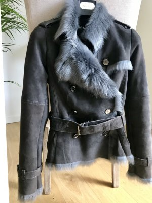 Burberry Fur Jacket anthracite fur