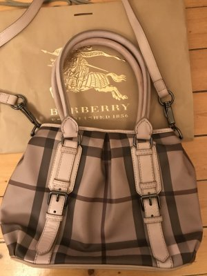 Burberry London Borsa con manico multicolore Pelle