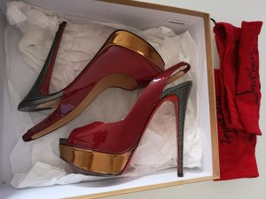100% Original Christian Louboutin High Heels, Gr: 38,5