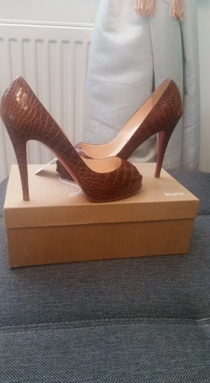 check out 9502f 90bbe 100% Original Christian Louboutin Very Prive Rechnung
