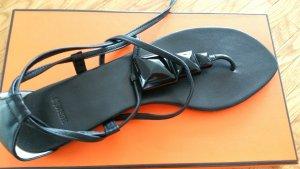 100% original Hermès Gladiator Sandalen flip flop Gr 40 neu