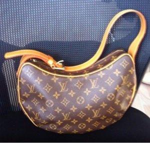 100 % Original Louis Vuitton Croissant Monogram Canvas MM neuwertig Handtasche Schultertasche