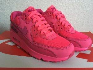 100% Original Neu Nike Air Max 90 GS 2007 Rosa Hyper Pink Vivid Gr 36