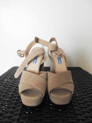 100% Original Prada  Sandalen Schuhe Plateau Schuhe 37 neu Blitzversand
