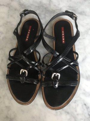 100% Original Prada Sandaletten  Gr 37