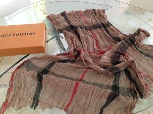 100% Original Schal Farbe CHECK/ CAMEL mit LV Karton