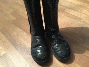 100% Original UGG Boots Pailletten schwarz Gr. 40