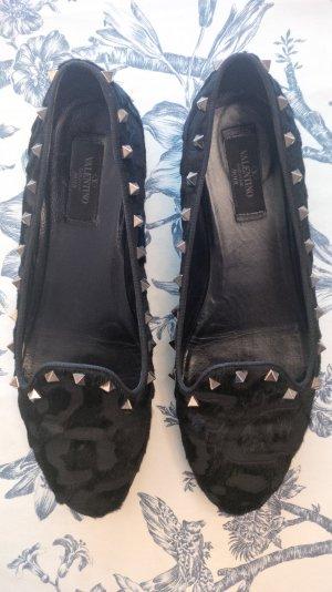 100% Original Valentino Rockstud Ballerinas Slippers