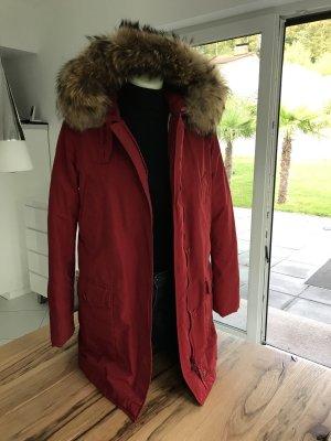 Woolrich Down Jacket dark red