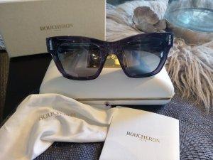 100% Originale Boucheron Sonnenbrille, Glitzer, Cateye