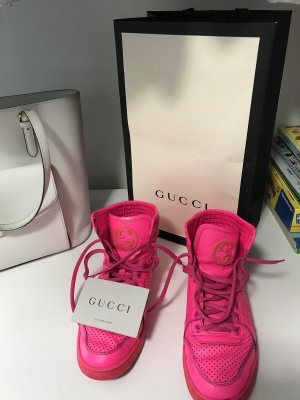 Gucci High Top Sneaker multicolored