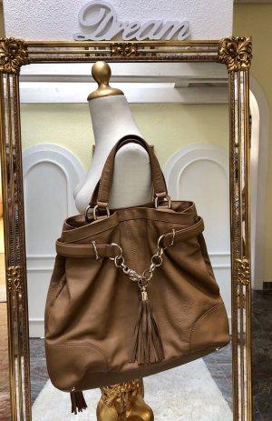 100% Originale Gucci Tasche, in Farbe Braun/Camel