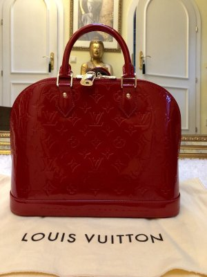 Louis Vuitton Carry Bag dark red