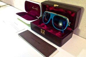 100% originale Louis Vuitton MILLIONAIRE Sonnenrbille, SELTENE RARITÄT