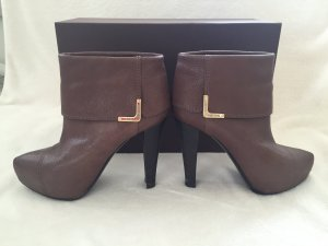 100% Originale Louis Vuitton Stiefeletten in Gr. 37,5 in Farbe Braun