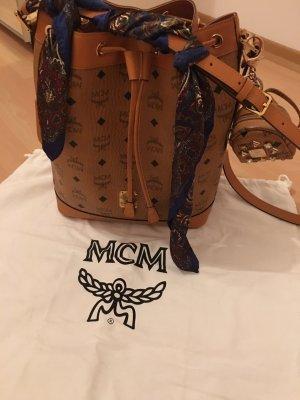 100% Originale MCM Tasche mit kleiner mcm tasche + Tuch