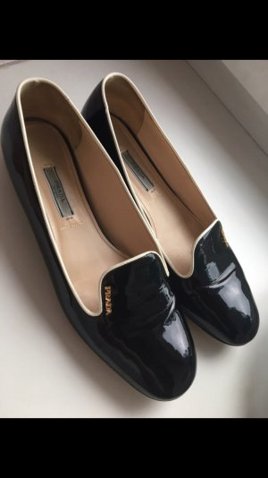 100% Originale Prada Lackballerinas